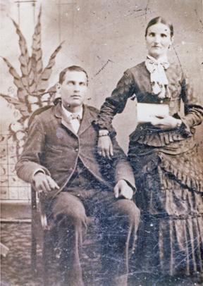 Les parents de ma grand-mère maternelle, Évélina Allard.