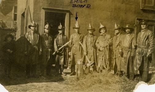 Pompiers de Hull en 1915.