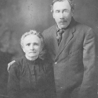 Les parents de ma grand-mère paternelle, Aurore Bigras.