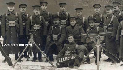 22e bataillon 1915