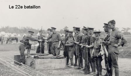 22e regiment 1914 1918