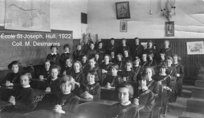 Ecole st jos hull 1922