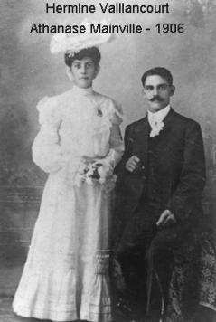 Mainville athanase vaillancourt hermine 1906