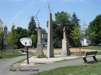 Monument dasken
