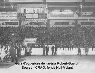 Gala d'ouverture de l'aréna Robert-Guertin