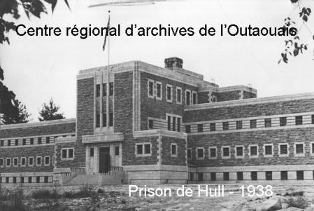 Prison hull 1938 fonds brunet crao 1