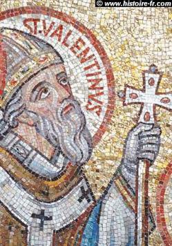 Saint valentin mosaique