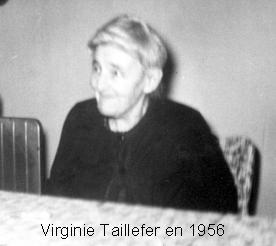 Taillefer ouimet virginie 1956