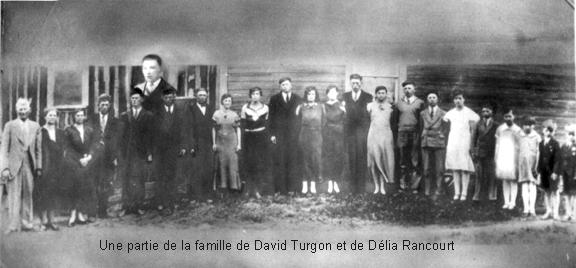 Turgon david famille